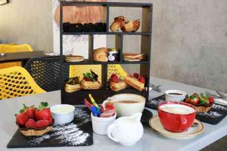 The Little Dessert Shop - Afternoon Tea with Free Flowing Tea or Coffee for Two - Save 46%