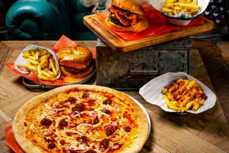 Revolution Bars - Burger or Pizza and Cocktail for Two - Save 0%