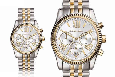 Ticara Watches - Michael Kors MK5955 lexington ladies chronograph watch - Save 54%