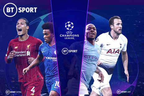 Digital Window - 12 month BT Sport subscription on Sky keep up with the latest Premier League, UEFA Champions League, FA Cup, UFC, European Rugby Champions Cup and more - Save 0%
