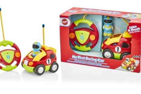 Groupon Goods Global GmbH - Remote Controlled Racing Car with Lights and Sounds - Save 60%