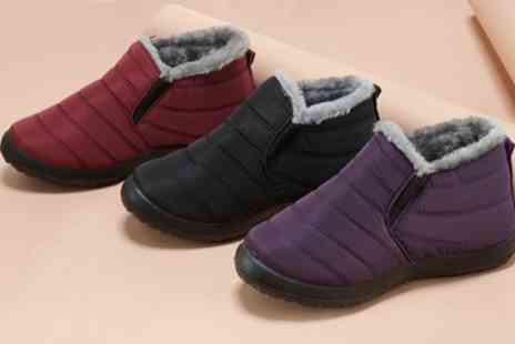 Groupon Goods Global GmbH - Womens Winter Thermal Boots - Save 71%