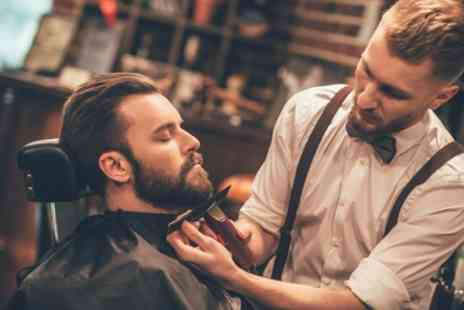 Groom Room Barbers - Beard Trim with Wash, Cut and Shave - Save 0%