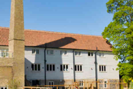 Tuddenham Mill - In Suffolk Two Night Stay for Two in a Mill Stream Room - Save 50%