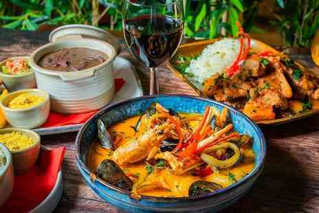 Boteco Do Brasil - Three course Brazilian feast for two people including a glass of Prosecco and glass of house wine each - Save 64%