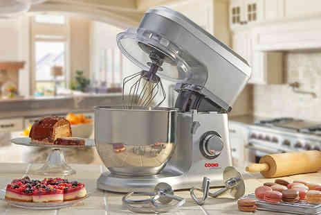 CJ Offers - 800W Cooks Professional stand mixer choose from five colours - Save 77%