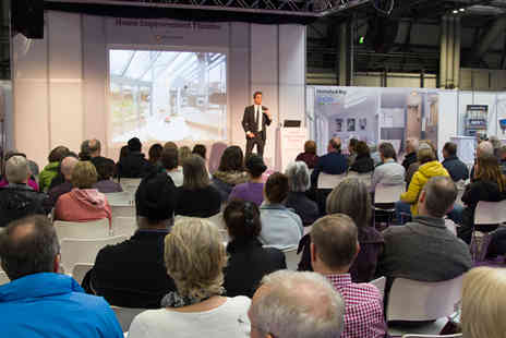 Homebuilding & Renovating Show - Ticket for one - Save 47%