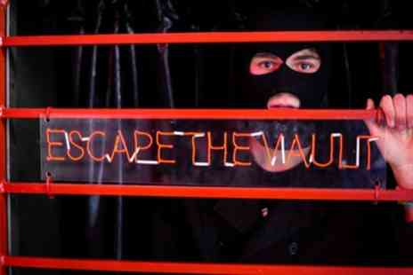 Escape The Vault - Escape Game and Drink for Four - Save 23%