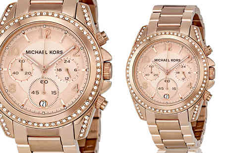 AW Watches - Ladies Michael Kors MK5263 Blair Rose Gold Watch - Save 61%