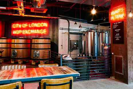 BrewDog - Brewery tour and beer school in Tower Hill - Save 0%