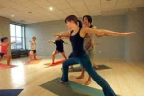 The Energy Space - 3 Yoga Classes In Central London - Save 52%