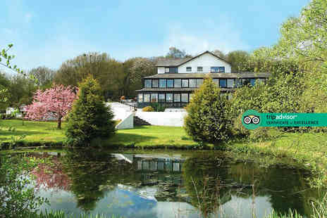Damson Dene Hotel - Two nights Lake District break for two people with breakfast, dining on the first night, leisure access and lake cruise - Save 27%
