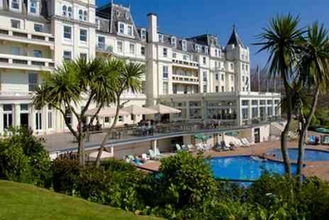 The Grand Hotel - Cream Tea with Optional Prosecco and Spa Access for Two or Four - Save 29%
