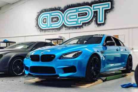 Adept Wrapping - Choice of Car Lights Tint or Paint Enhancement - Save 43%