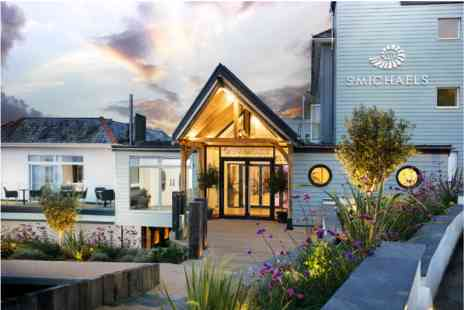 Luxury St Michaels Resort - Two Nights Cornish Coast Escape with Dinner and Hydrothermal Spa Experience for Two - Save 0%