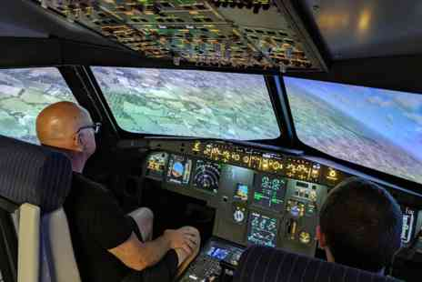Virgin Experience Days - 120 minute Airbus A320 Flight Simulator - Save 0%