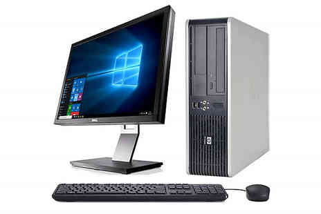 Glenluce Computers - HP DC7900 Full System with 19 Inch Screen, 4GB RAM and 1TB HDD - Save 74%