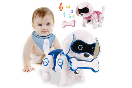 MBLogic - Remote control smart robot puppy choose your colour - Save 67%