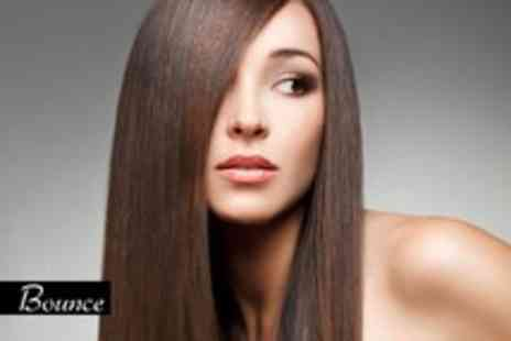 Bounce Hair - GK keratin Brazilian blow dry, cut and professional finish - Save 67%