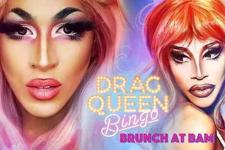 Bambalan - Drag queen bingo brunch with a bottle of Prosecco to share - Save 58%