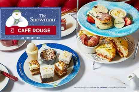 Cafe Rouge - The Snowman Afternoon Tea for Two with Optional Magical Prosecco - Save 0%