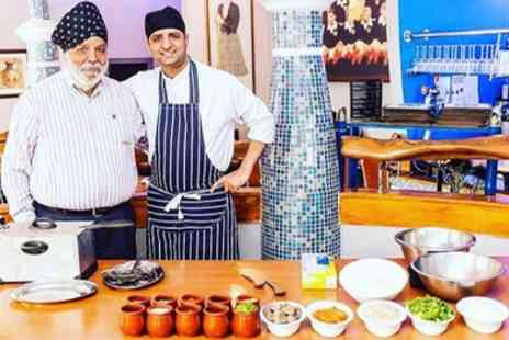 Mister Singhs India - Pakora Masterclass with Four Course Menu and Drink for Two or Four - Save 58%