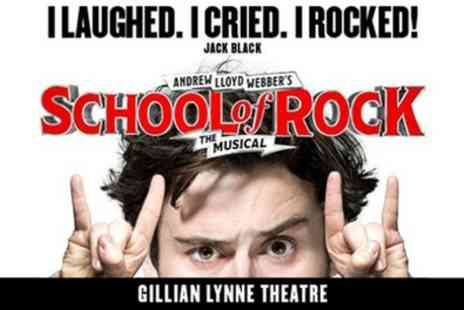 Gillian Lynne Theatre - Tickets to see School of Rock The Musical - Save 0%