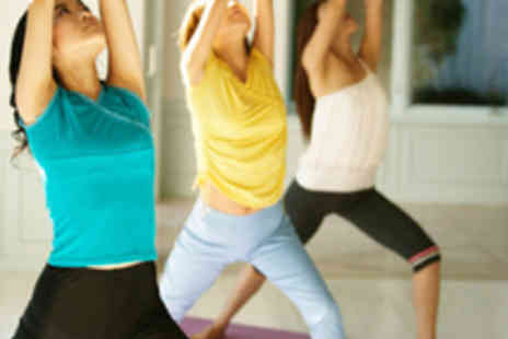 London Fitness and Health - Five Power Yoga Classes - Save 64%