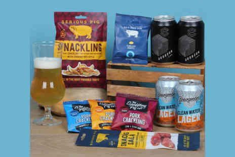 Borough Box - Gourmet beer and snack box - Save 37%