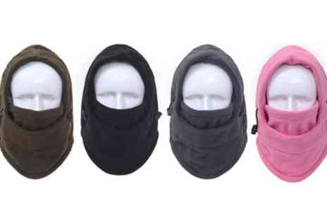 Groupon Goods Global GmbH - Six in One Thermal Winter Hats in Choice of Colour One, Two, Three or Four - Save 71%