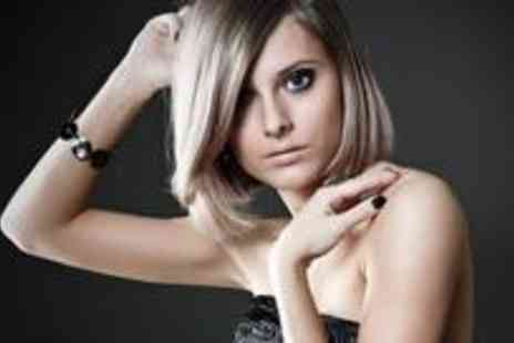 Jon McMahon Hairdressing - Half head of highlights or full colour, restyle and Argan deep oil conditioning - Save 77%