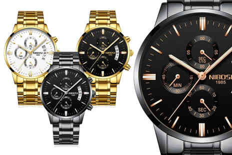 WhoGotThePlan - Mens luxury watch and gift box - Save 60%