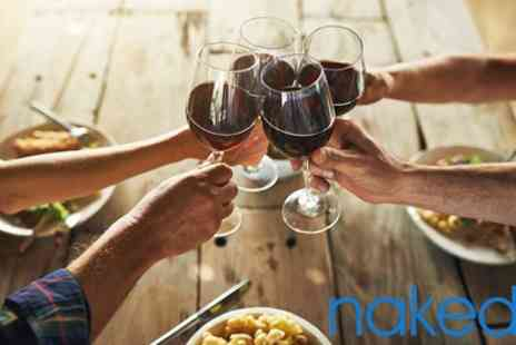 Naked Wines - £60 or £90 Off Wine Delivery - Save 93%