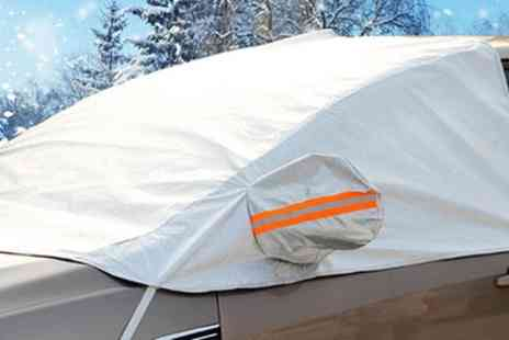 Groupon Goods Global GmbH - One or Two Car Windshield Frost, Ice and Snow Covers - Save 65%