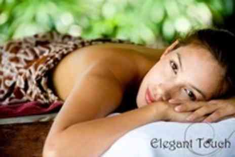 Elegant Touch - Massage With Dermalogica Facial Plus Manicure - Save 63%