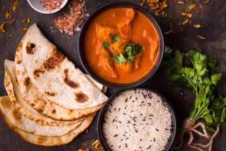 Kathmandu Lounge - Two or Three Course Indian Meal with Rice, Naan or Both for Two or Four - Save 40%