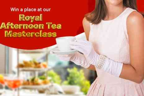 Groupon Prize Draw - Win A Place At Groupons Royal Afternoon Tea Masterclass For You And A Friend - Save 0%