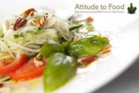 Attitude to Food - Raw Food Workshop With Nutritional Advice - Save 61%
