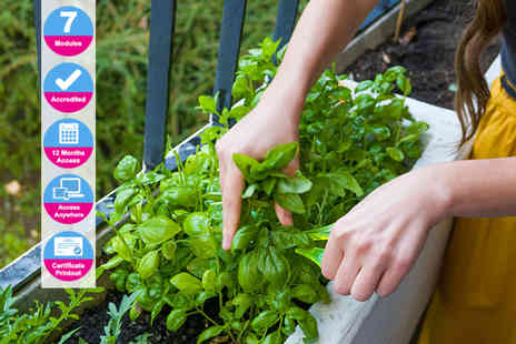 Trendimi - Accredited growing food in small gardens course - Save 0%