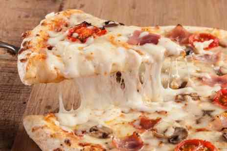 Millers Pond - Stone Baked Pizza Feast for Up to Six with Board Games - Save 33%
