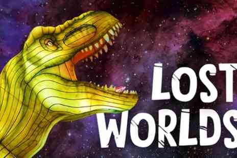 Giant Lanterns Lost Worlds at Edinburgh Zoo - One child or adult ticket 4th To 19th December - Save 20%