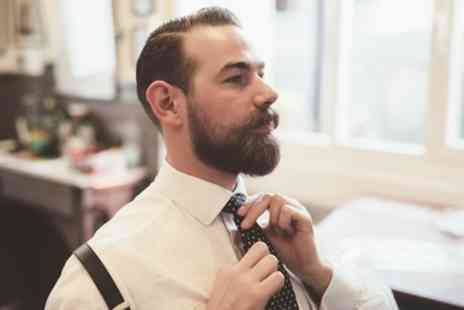 HanaBellaz at KB Salon - Mens Wash, Cut and Optional Finish, Beard Trim, Shave or Facial - Save 40%