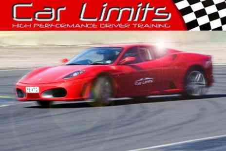 Car Limits - Drive a Ferrari, Porsche and Lotus for One Lap in Each Car - Save 72%