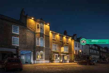 The Golden Fleece Hotel - Overnight Thirsk, Yorkshire break for two people with breakfast, a bottle of Prosecco each and late check out - Save 0%