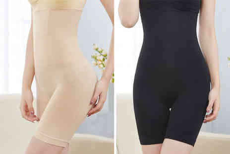 WowWhatWho - One pair of high waist shaping pants choose from two colours - Save 70%