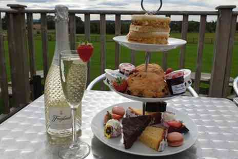 The Tea Room On The Wall - Traditional, Gin or Sparkling Afternoon Tea for Two or Four - Save 40%