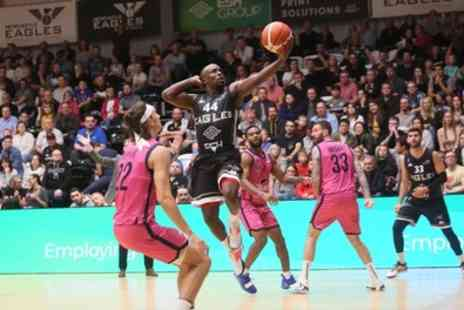Newcastle Eagles v Manchester Giants - One adult, child or concession ticket from 15th November - Save 10%
