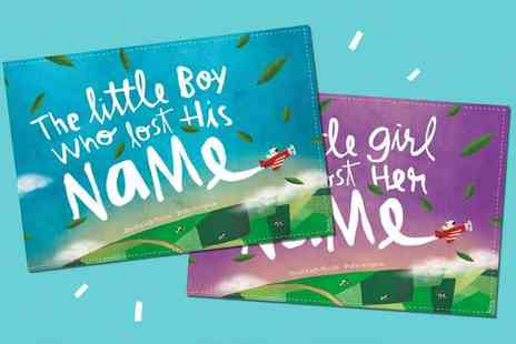 Wonderbly - The Little Boy Or Girl Who Lost Their Name Plus Free Activity Book A Unique Personalised Gift - Save 26%