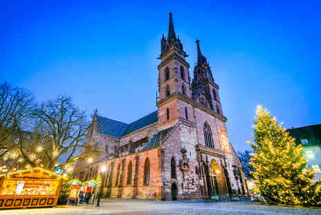 Via Holiday - Two nights Basel Christmas markets getaway with flights - Save 31%