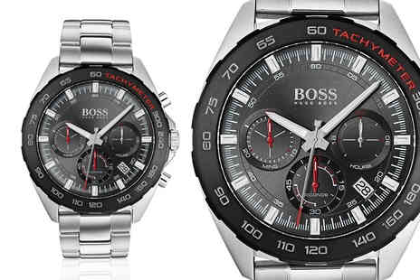 Best Watch Company - Hugo Boss HB1513665 mens sport stainless steel watch - Save 72%